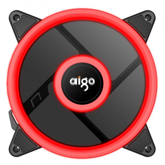 Aigo Aura Plus 120mm Red Case fan