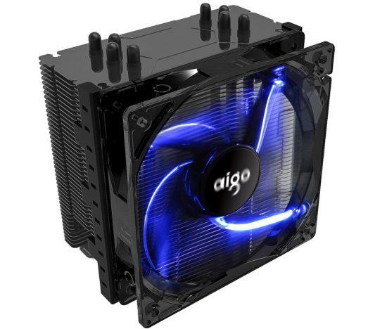 Aigo L4 120mm 4 Heatpipes CPU Cooler