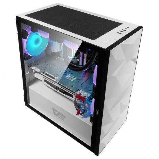 Aigo DLM21 Tempered Glass Gaming PC Case