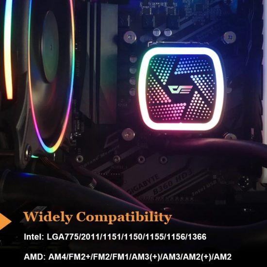 darkFlash DT Series CPU Liquid Cooler