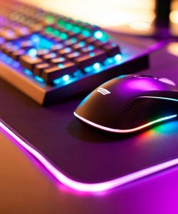 darkFlash 800*300mm RGB Mouse & Keyboard Pad