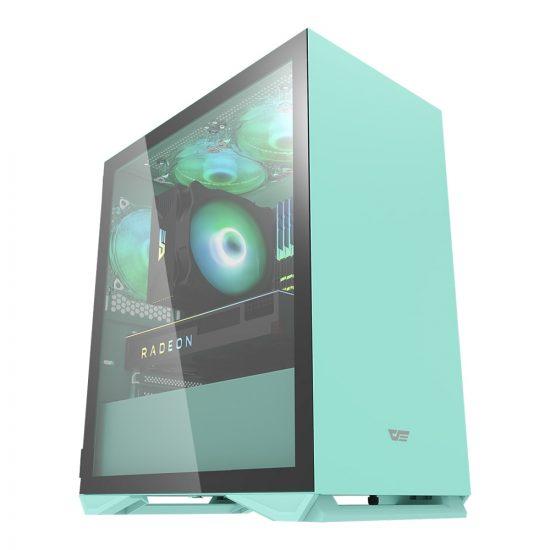 Aigo DLM22 Tempered Glass Gaming Case