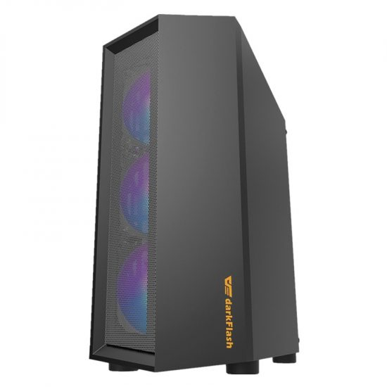 Darkflash ATX Transparent Tempered Glass Mid Tower Chassis