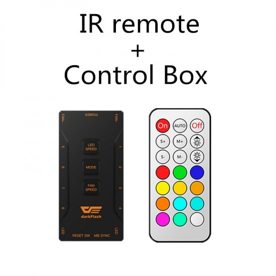 Aigo DR12 Case LED Stripes & Remote With Controller Box