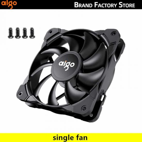 Aigo New PWM 4 Pin 120mm Computer Silent Case Fan
