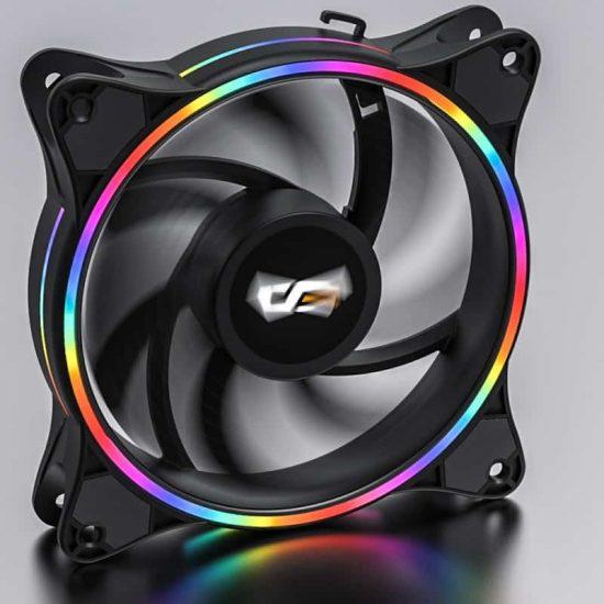 darkFlash D1 120mm PC Computer LED Rainbow Fan