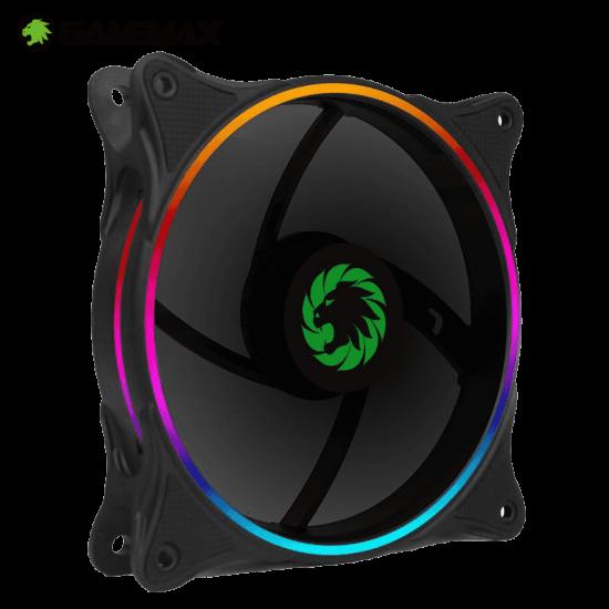 GameMax Rainbow-N RGB PC 120mm Case Fan