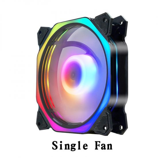 Ay AM1 Cooler PC Case Fan 120mm Rgb Fan