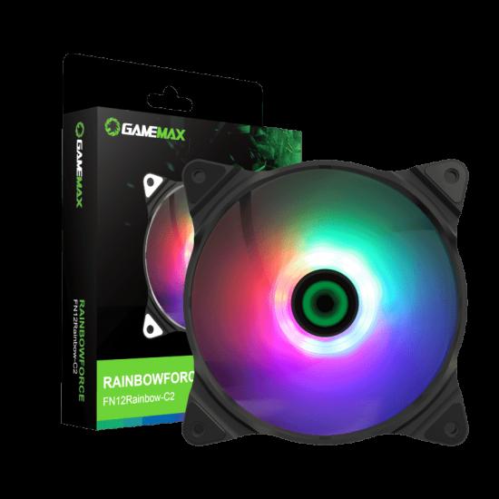 GameMax Rainbow-C2 RGB PC Case Fans 120mm