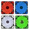 120mm 15 LED Ultra Silent Computer PC Case Cooling Fan