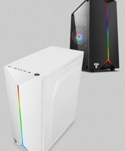 ATX Full-side Acrylic Transparent RGB Air Cool Water Cooling USB3.0 PC Case