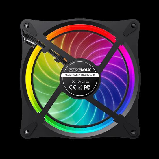 GameMax RL300 RGB PC 120mm Case Fans