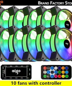 Aigo AR12 120mm RGB Case Fan
